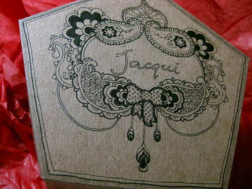 Giftmas for Jacqui