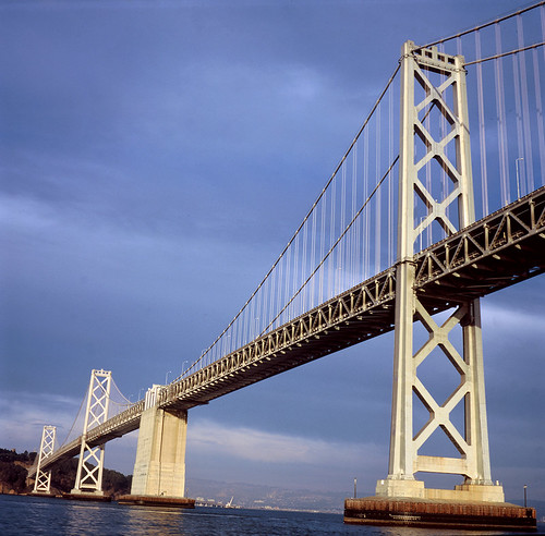 Bay Bridge in Late Autumn Daylight