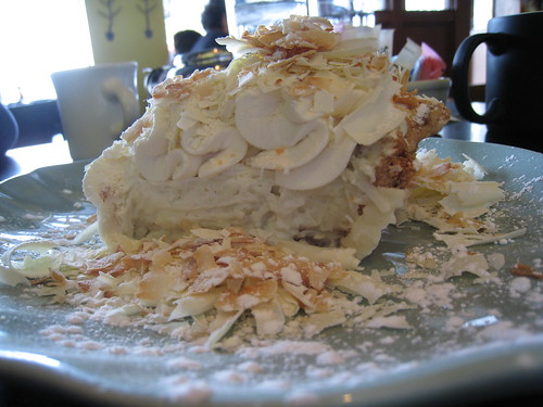 Tom Douglas Triple Coconut Cream Pie. Thanks to j0mamma on Flickr