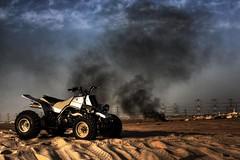 Banshee (Talal Al-Mtn) Tags: desert banshee atv kuwait bnaider   talalalmtn