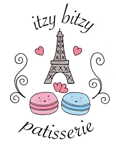 Itzy Bitzy Patisserie design
