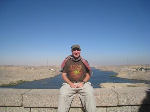 Sitting atop the High Dam