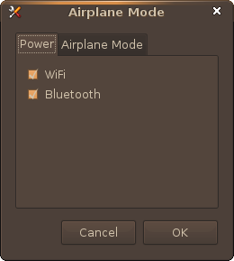 Screenshot-Airplane Mode