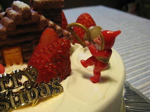 クリスマスケーキ2008 その2