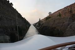 Greece - Corinth Canal Transit 2008 (Chris&Steve) Tags: cruise ship cruising greece transit cruiseship shipping 2008 corinthcanal seabourn ellda  hells hellenicrepublic seabournspirit 10millionphotos   ellnikdmokrata elinikiimokratia