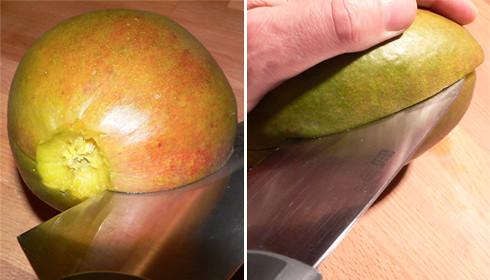 Mango zerlegen