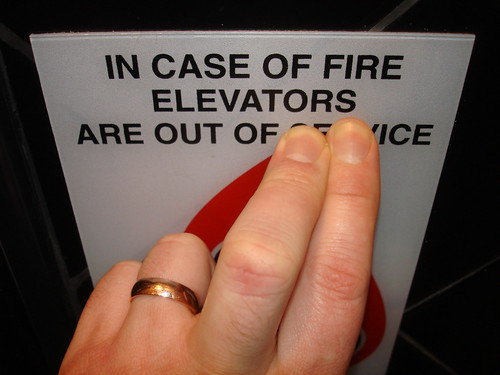 In Case of Fire Elevators Are Out of Ice
