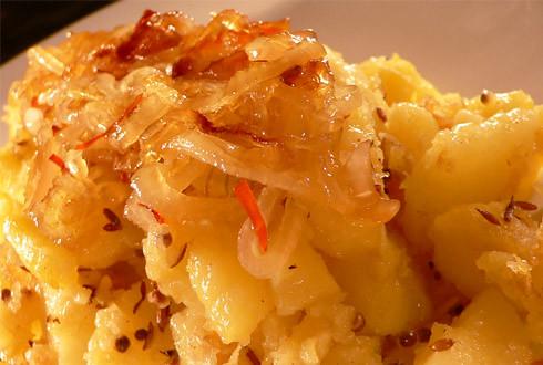 Bratkartoffeln mit Ingwer