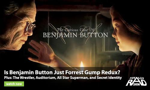 Benjamin Button poster Forrest Gump