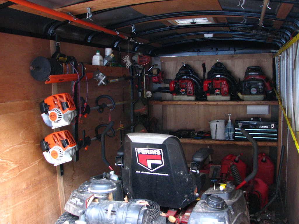 Enclosed Trailer Rack Systems Lawnsite