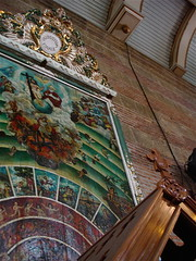 Mural Above Confessional (mila d aguilar) Tags: people art tourism architecture landscapes icons philippines churches laguna idols filipinos pakil miladaguilar