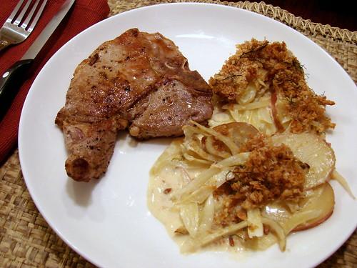 Dinner:  April 7, 2009