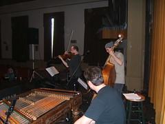 Harmonia soundcheck, Hiram, OH