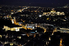 Time witness (Faddoush) Tags: city night lights nikon cityscape time hellas athens greece acropolis parteno faddoush