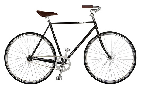 Stolen Linus Bicycle Serial #: LOE0100052