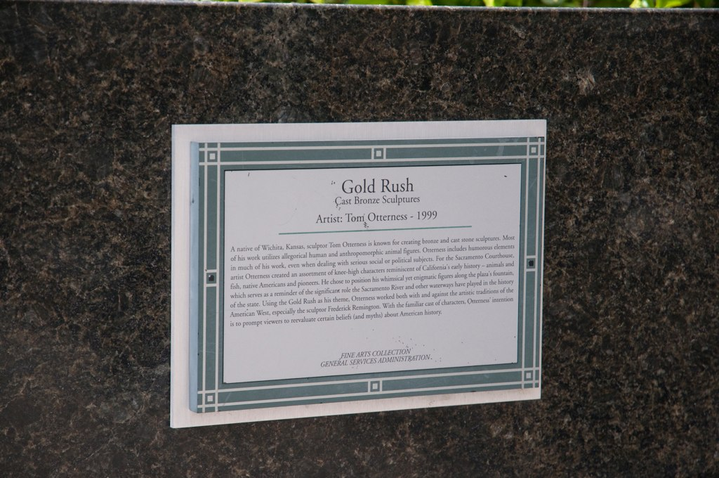 Gold Rush Sign