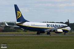 EI-DYL - 36574 - Ryanair - Boeing 737-8AS - Luton - 100831 - Steven Gray - IMG_5487