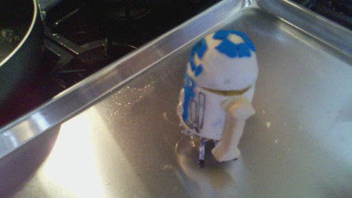R2D2 Moving Cupcake