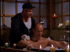 Frasier gets a rub from his old gym teacher