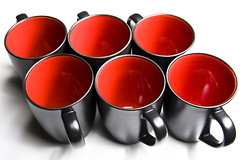 Red Cups (Joe Pitz) Tags: life food black still shot drink gourmet product redcups coffeecups asianfusion