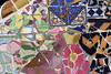 Broken Tiles at Parc Guell (velo_city) Tags: barcelona broken colors tile design spain mosaic catalonia espana tiles gaudi catalunya parcguell trencandis