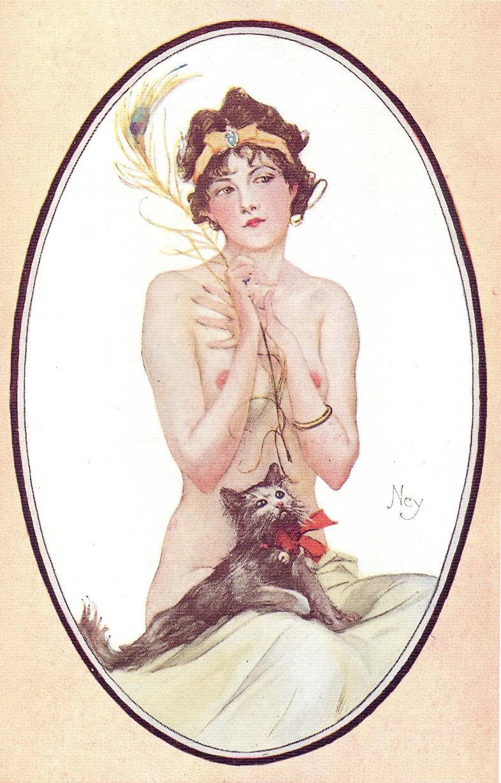 1900s comic art