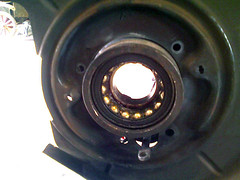 Stuck Wheel Bearing