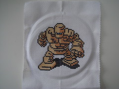 Goldman (benjibot) Tags: crossstitch crafts videogames nes dragonwarrior