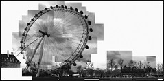 Wonky Wheel mono (dan-ish) Tags: city urban london eye wheel collage mono town mix construction mess many mashup capital londoneye join montage danish messy civic stick metropolis wonky residential developed metropolitan hockney joiner lots mash settlement dma fragment crapweather disjointed urbanised urbanized builtup dan0ish danmorrisadams morrisadams
