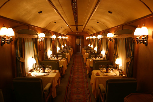 El Transcantabrico luxury train from the Luxury Train Club