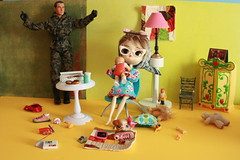 Happy Mothers DAy Series 1 of 10 (The Dolly Mama) Tags: life home gijoe toys mess dal mothersday desperatehousewives winifred cabbagepatchbaby