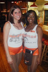 Jennifer & Shay (BuccaneerBoy) Tags: girls hot beautiful pretty florida hooters saturday babes hotgirls ocala hootersgirls hootergirls ocalahooters