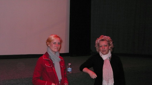 Picture of Lauraless Farrer and Tamara Johnston of the movie Fair Trade at the Ashland Film Festival