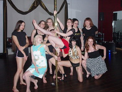 pole dancing ladies