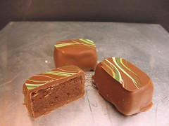 Pear Ganache Chocolates