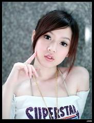nEO_IMG_IMG_2913 (c0466art) Tags: light portrait white cute rabbit smart canon tv little singer fans lovely