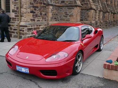 Because it was a Ferrari thats why! Red Ferrari 360 Modena