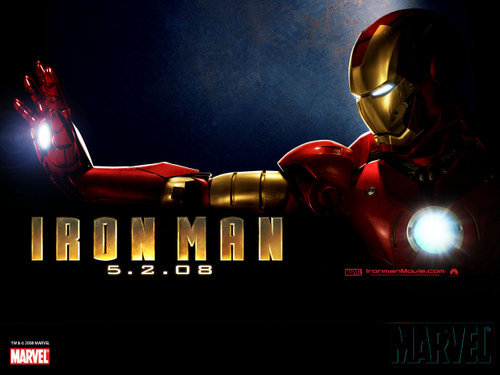 Another Official Iron Man Movie Poster