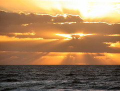 Crystal Beach Sunrise (bayoubooger1) Tags: ocean sunset sunshine sunrise fabulous soe golddragon anawesomeshot envyofflickr grouptripod
