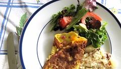 omelettes for dinner