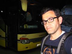 Me and my bus (Emile Baizel) Tags: emile