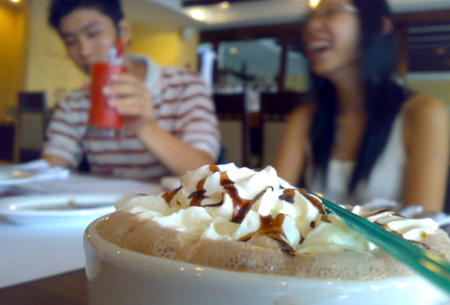 Hot Chocolate-Couple @ Italiannies