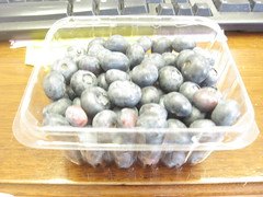 bluberries from the Farmers' market