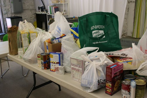 Successful Food Drive for Harvesters