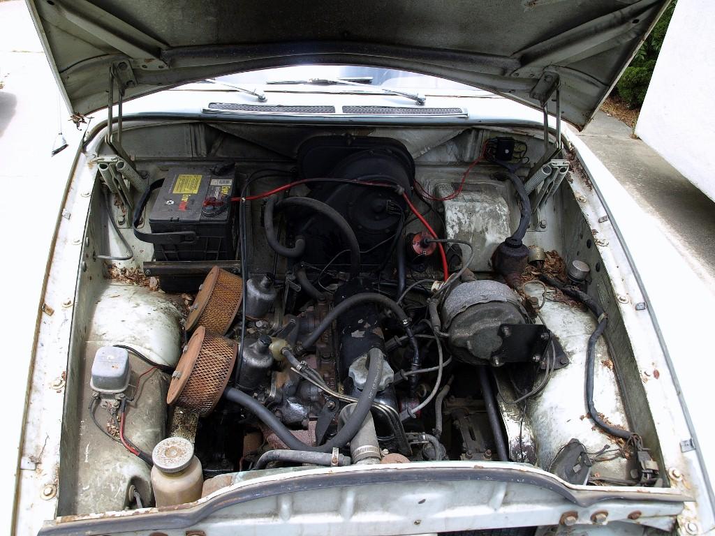 1968 Volvo 122s.