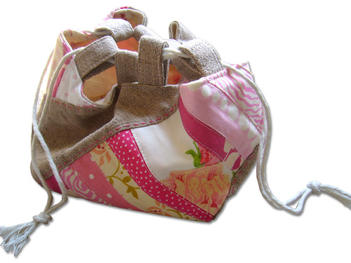 Little Pink Patchwork Bag