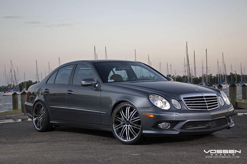 Some Benz E Class Cars On Vossen Wheels Mercedes Benz Forum