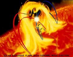 Coronal Mass Ejection: Artist Concept (NASA, Sun)