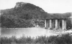 Le barrage de la chartreuse de Vaucluse