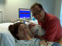 It's a girl!  Celeste Bea Kalehoff. 7lbs 15oz.